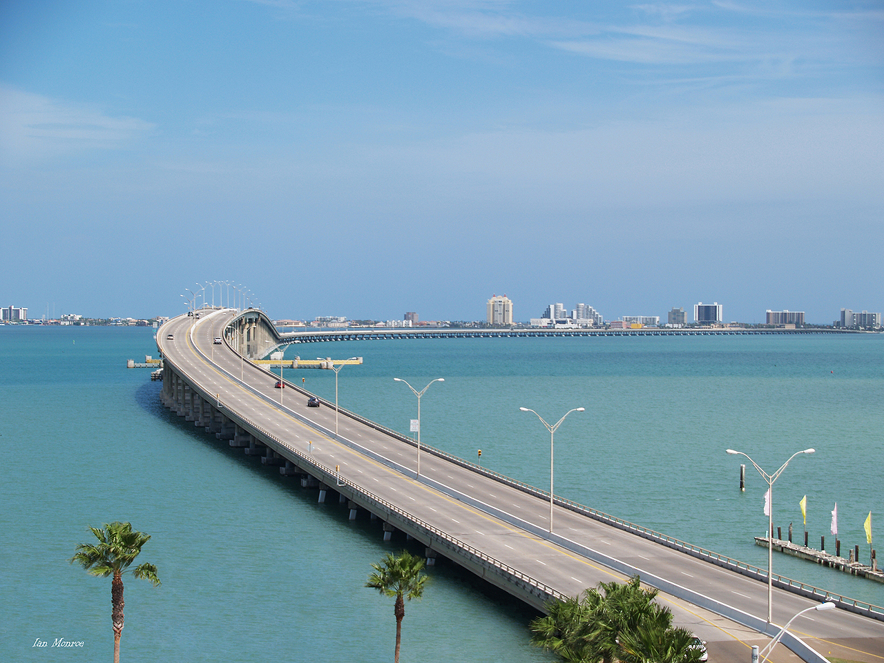 South Padre Island Bridge Camera