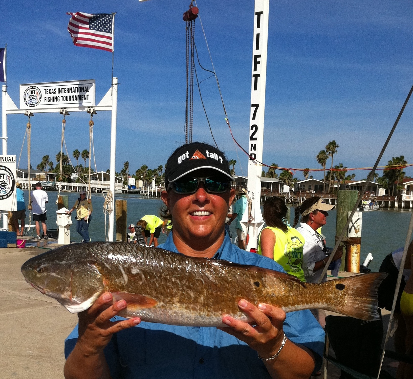South padre and port isabel host tift july 31 to aug 4 for South texas fishing