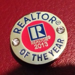PET - 2013 REALTOR OF THE YEAR PIN