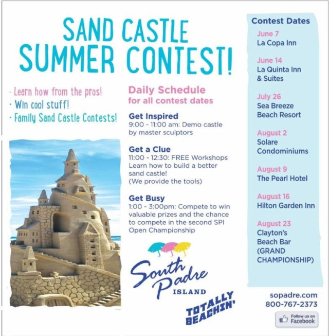 PET - BLOG PIC SUMMER SANDCASTLE CONTEST 2014